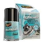 Meguiar's Eliminador de olores de refresco de aire completo, Esencia de carro nuevo, 70 g