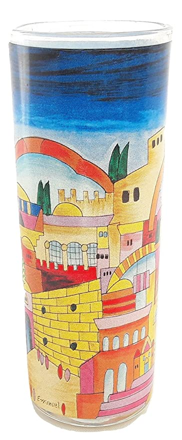 Amazon com | Shot Glass Tequila glass israel Jerusalem holy