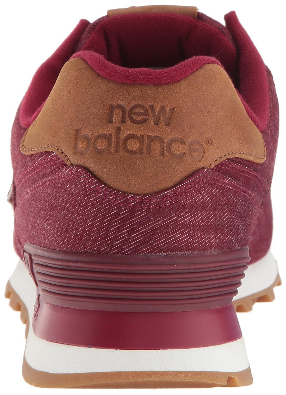 New Balance 574 Menns Burgunder TLGokB5