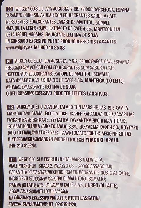 Solano - Café Expresso - Caramelo duro sin azúcar - 900 g: Amazon.es: Alimentación y bebidas