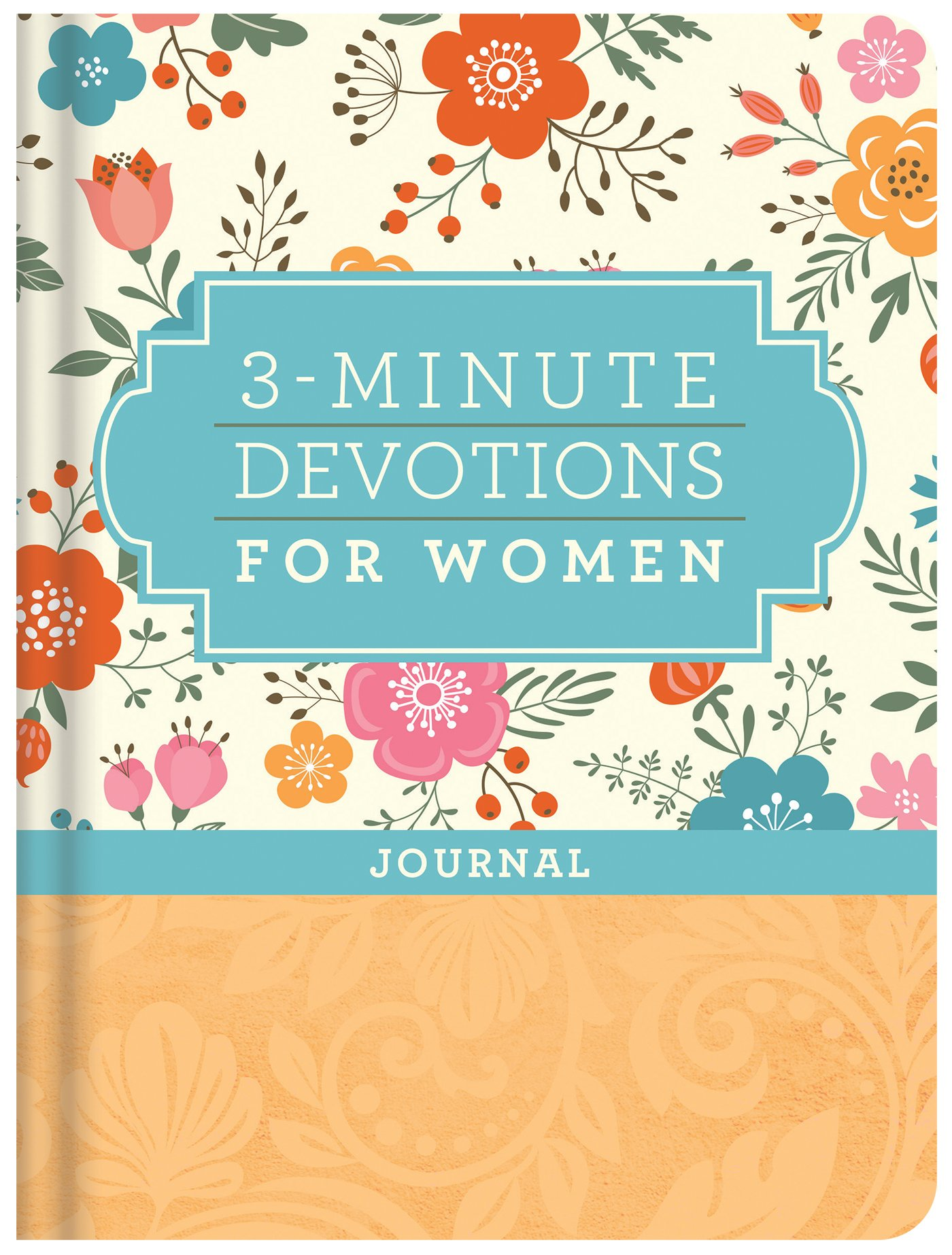 Read Online 3-Minute Devotions for Women Journal pdf
