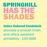 Springhill Colored Paper, Cardstock Paper, Canary