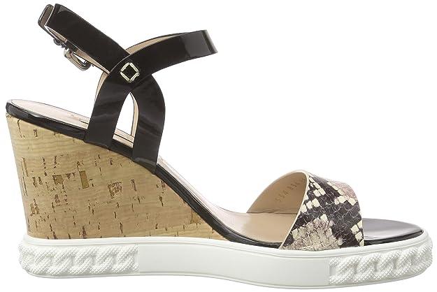 Casadei 2LE80D, Damen Offene Sandalen, Schwarz (NERO), 38 EU: Amazon.de:  Schuhe & Handtaschen