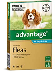 Advantage Pet Meds Dog 4-10Kg Aqua 6