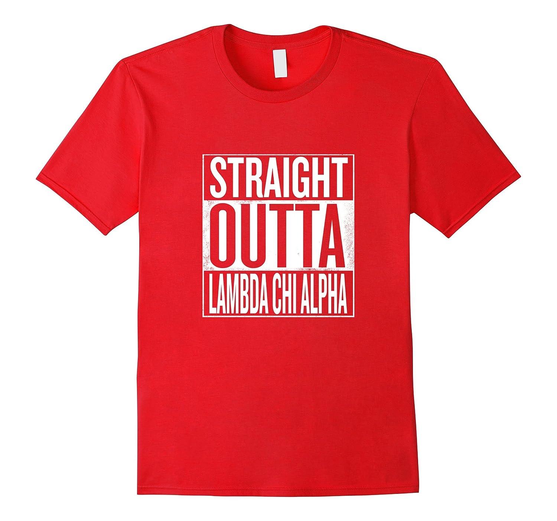 Straight Outta Lambda Chi Alpha T-Shirt-BN