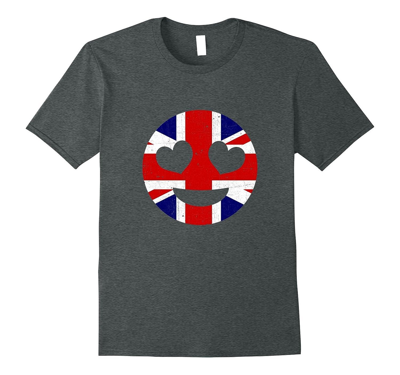 British Heart Emoji T-Shirt-CD