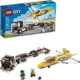 LEGO Kit de construcción City 60289 Camión de Transporte del Jet Acrobático (281 Piezas)