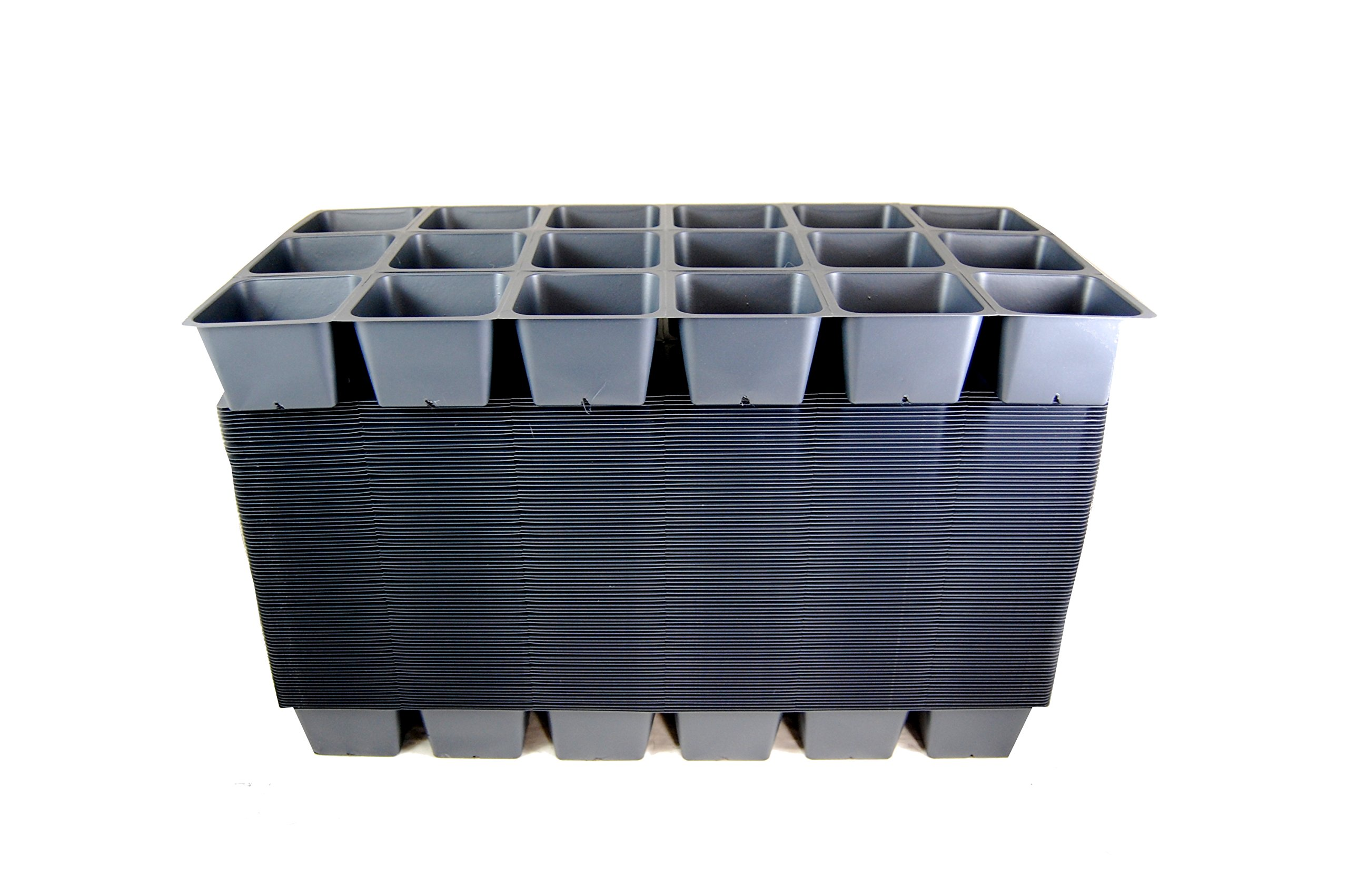 1801 Inserts - 18 Growing Cells per Insert - Propagation Inserts - Case of 100 by Growers Solution