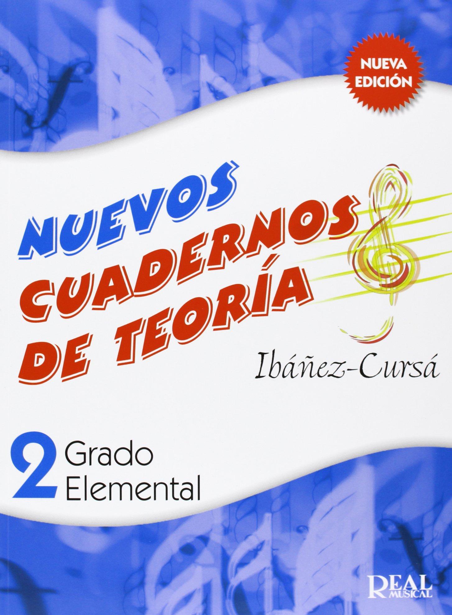 Cuadernos de Teoría, Grado Elemental Volumen 2 RM Teoria de la ...