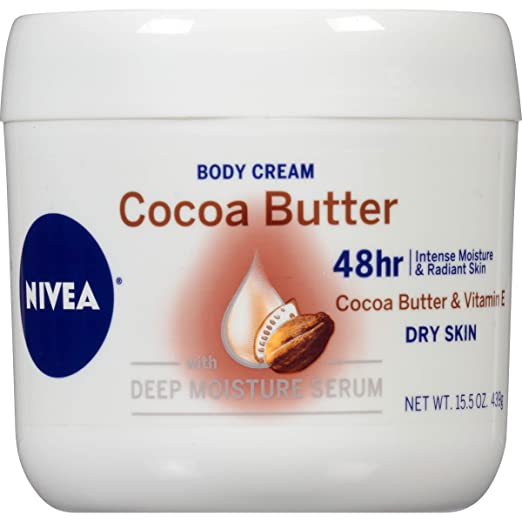 NIVEA Cocoa Butter Body Cream 15.5 oz