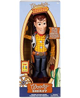 35364d75e Amazon.com: Toy Story Pull String Woody 16