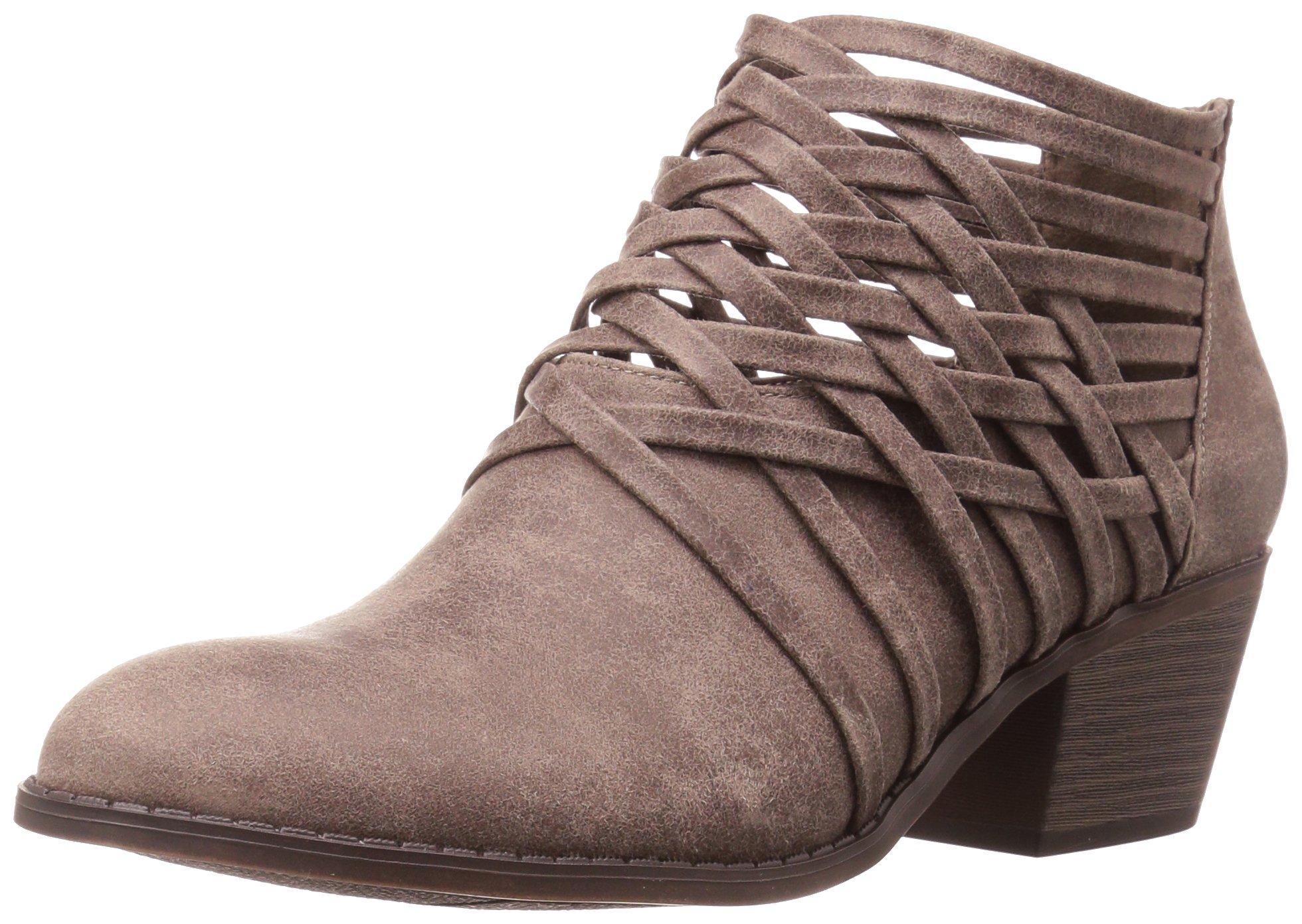 ca153af67989b Fergalicious Women's Bandana Ankle Bootie, DOE, 10 M US