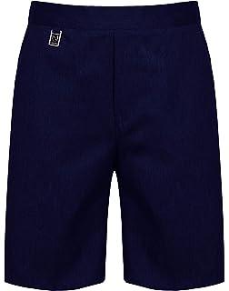 1b2cb64b7b EX M&S Boys Smart School Uniform Long Shorts Trousers Age 2-12 Years ...