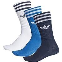 adidas Solid Crew Sock - Calcetines, Unisex Infantil
