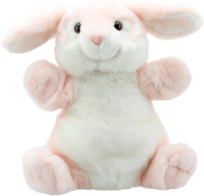 Rosa The Puppet Company Cuddly Tumms Conejo Marioneta de Mano