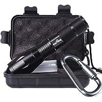 Uoline Tactical Portable LED Flashlight with 5 Modes