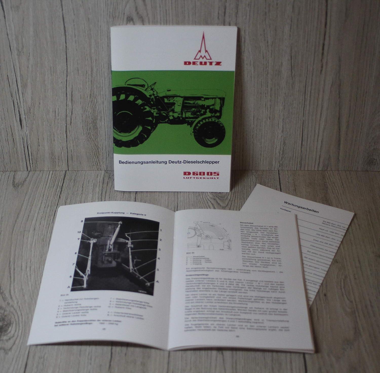 Werkstatthandbuch für Deutz Traktor Schlepper D6005 D 6005