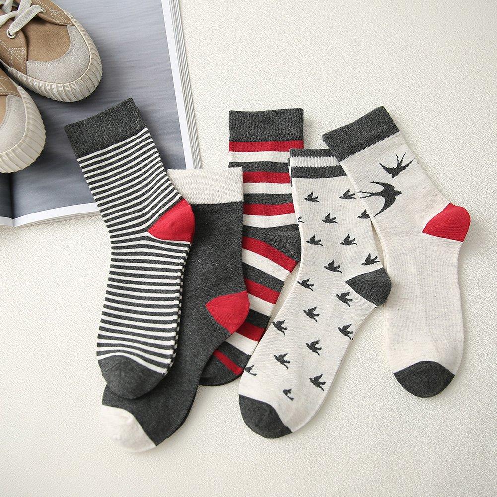 Laetus Fashion Men\'s Solid Color Geometric Patchwork Striped Dot ...