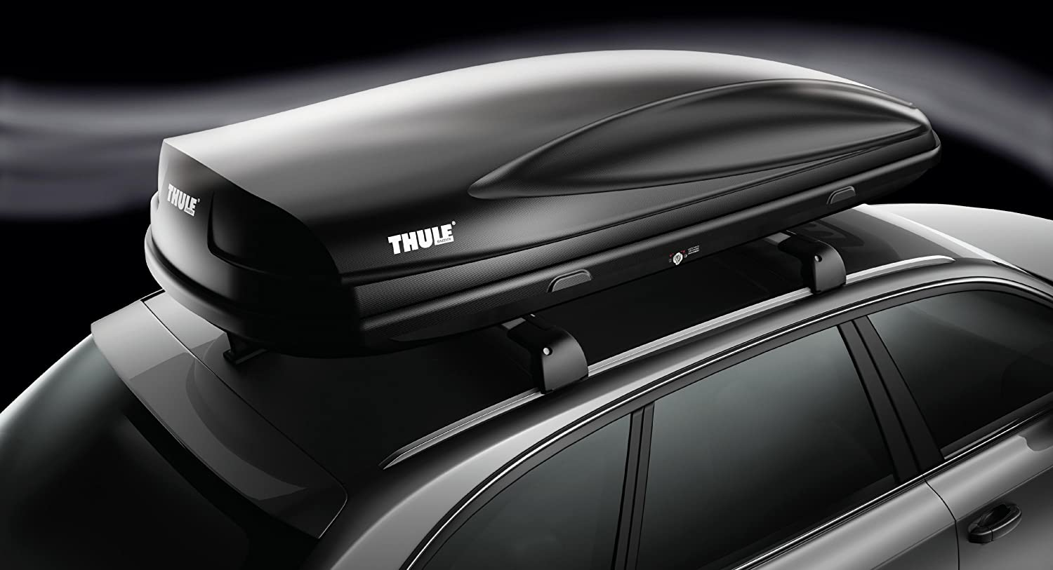 Black Thule Force Cargo Box
