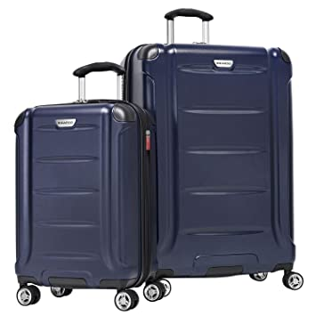 e01aecc22 Amazon.com | Ricardo Beverly Hills Sequoia 2-Piece Hardside Spinner Luggage  Set, Navy | Luggage Sets