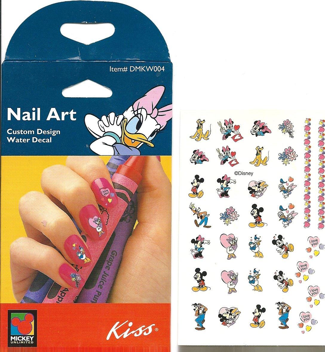 Amazon.com : Disney Valentine Fun Daisy Duck Minnie Mouse Kiss ...