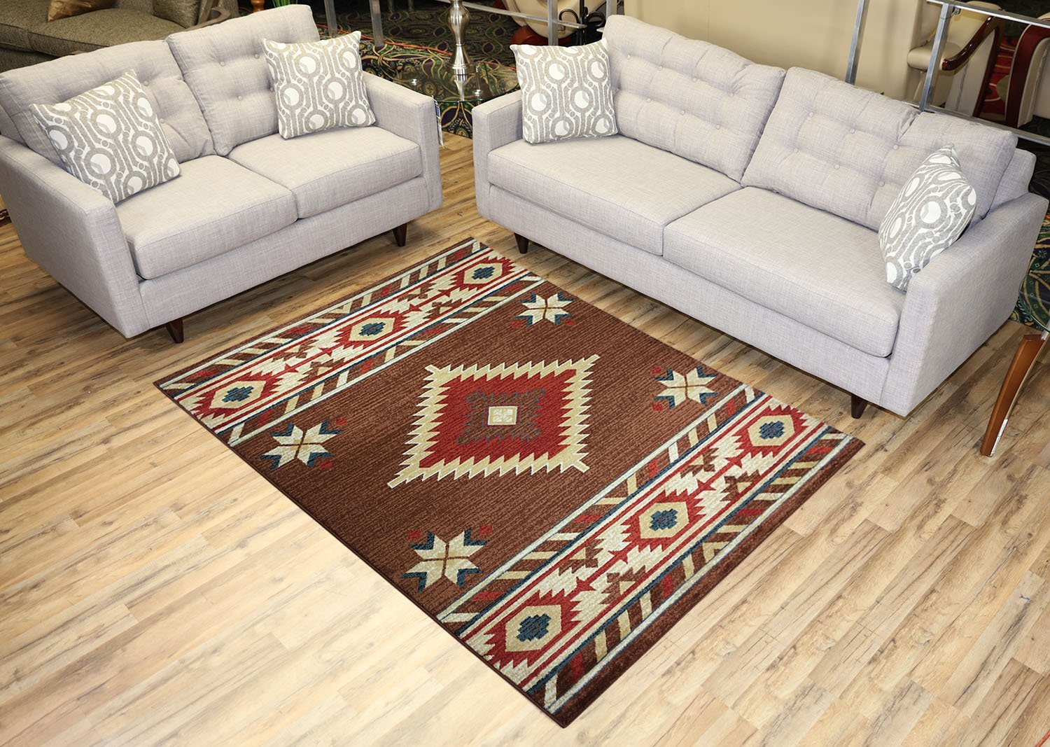 Nevita Collection Southwestern Native American Design Area
