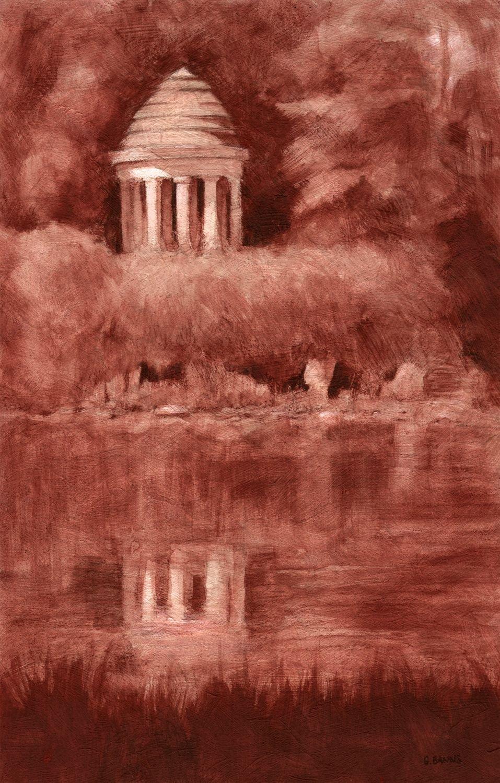 Romantic Rotonde, Lake Daumesnil Bois de Vincennes by