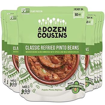 A DOZEN COUSINS MEALS 10-Ounce Canned Refried Bean