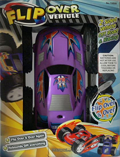 Amazon.com: Flip Over Vehicle 2 Sided Off Road & Racing Toy Car: Toys & Games