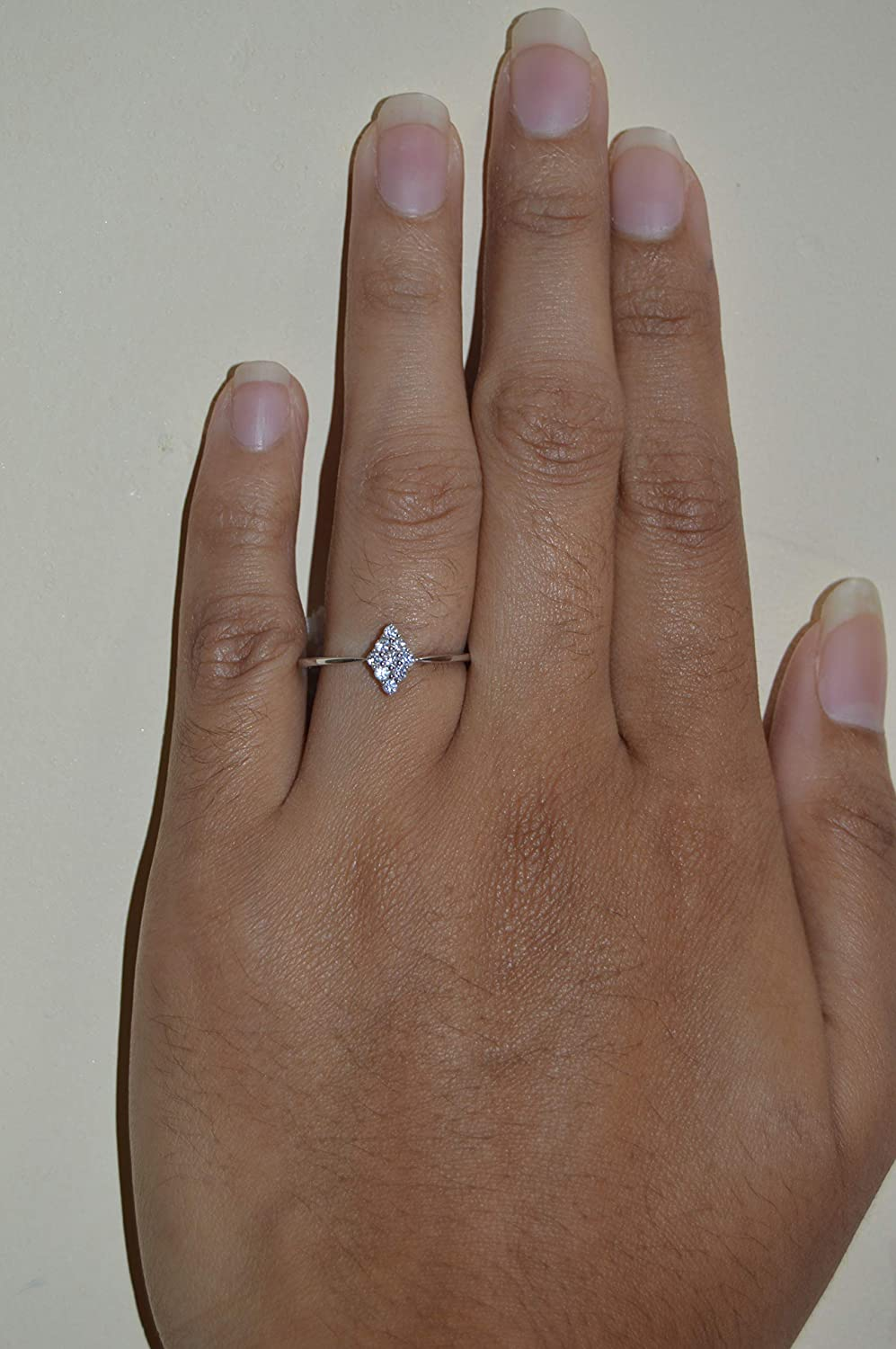 Clear Cluster Toe Ring