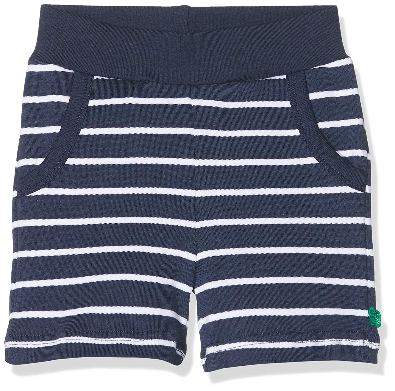 Freds World by Green Cotton Baby-Jungen Shorts Stripe