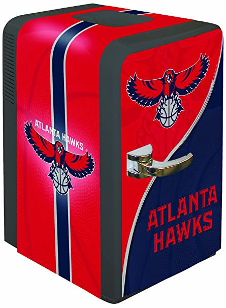Amazon.com   Boelter Brands NBA Atlanta Hawks Portable Party Fridge ... 45fff6477