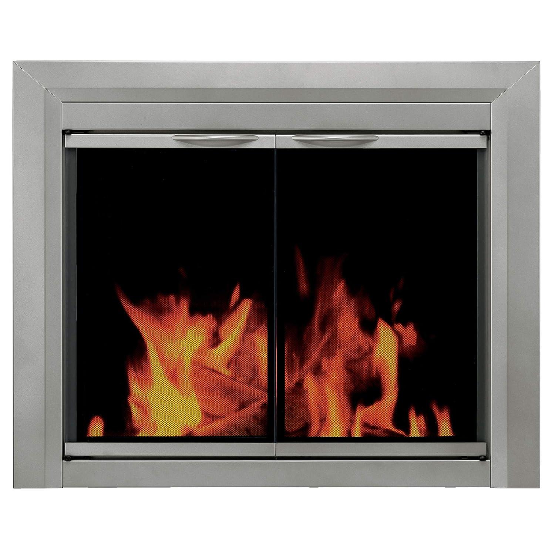amazon com pleasant hearth cb 3300 colby fireplace glass door rh amazon com