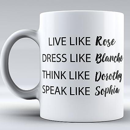 Funny Mug Golden Girls TV Show Mug   Mug Inspired By Golden Girls Quote  Inspired By