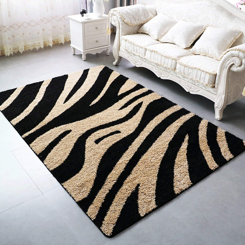 Amazon.com: Living room bedroom soft rug Classic Rectangle ...
