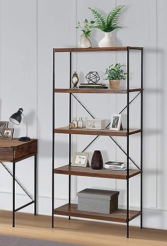 Brunei 4-Shelf Bookcase
