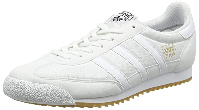 adidas Dragon OG, Zapatillas para Hombre, Blanco FTWR White/Gum, 46 2/3 EU: Amazon.es: Zapatos y complementos