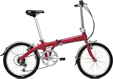 Dahon Eco C6 - Bicicleta plegable, color rojo: Amazon.es: Deportes ...