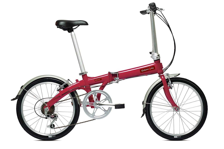 Dahon Eco C6 - Bicicleta Plegable, Color Rojo: Amazon.es ...