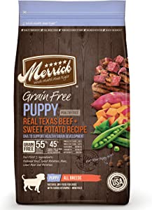 Merrick Grain Free Puppy Dry Dog Food Recipe