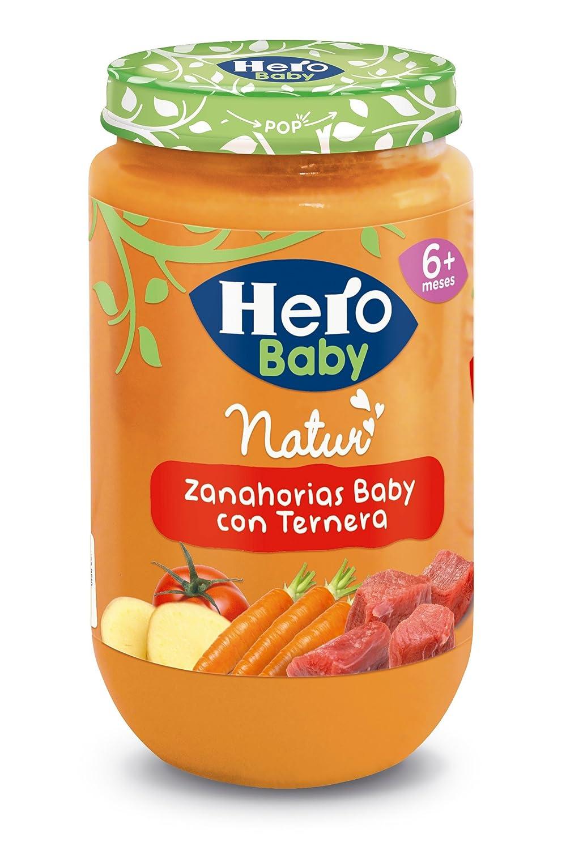Hero Baby - Zanahorias Baby Delicias De Ternera 235 g: Amazon.es: Alimentación y bebidas