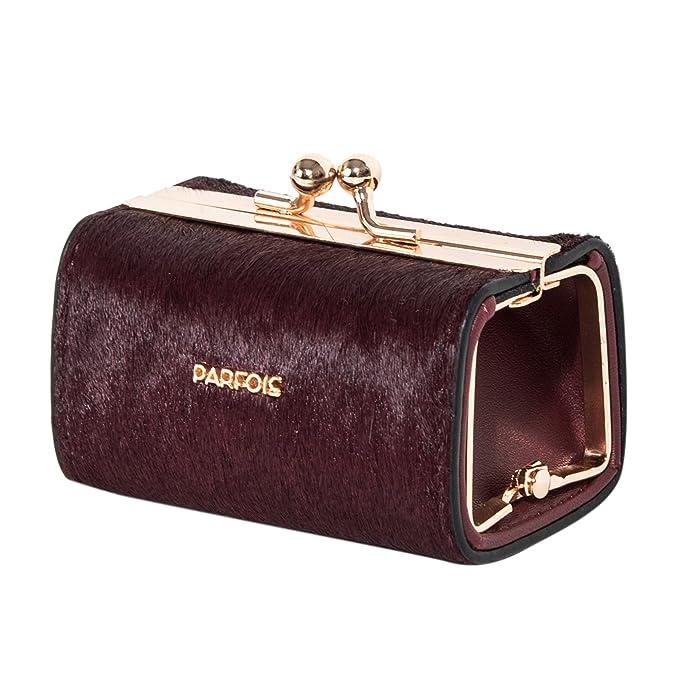 Parfois - Monederos Bolsinha Multiuso Real Pelo Fur Wallet ...