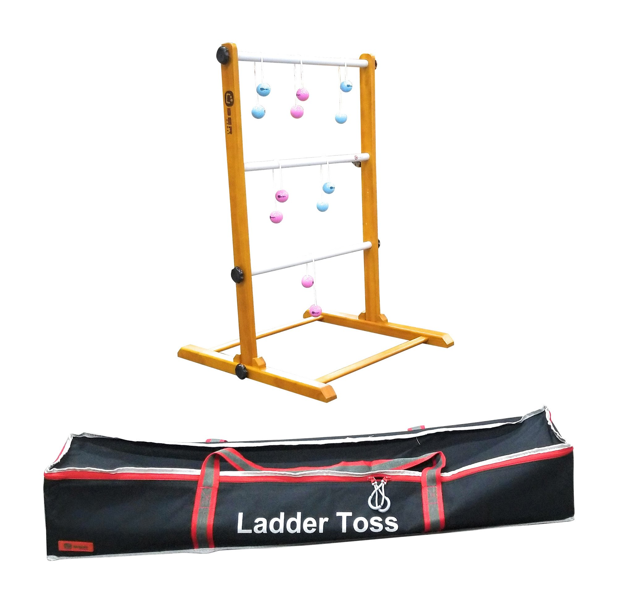 Uber Games Ladder Toss - Single - Pink and Sky Blue Bolas by Uber Games
