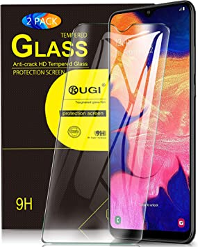 KuGi. para Samsung Galaxy A10 Protector de Pantalla, Cristal ...