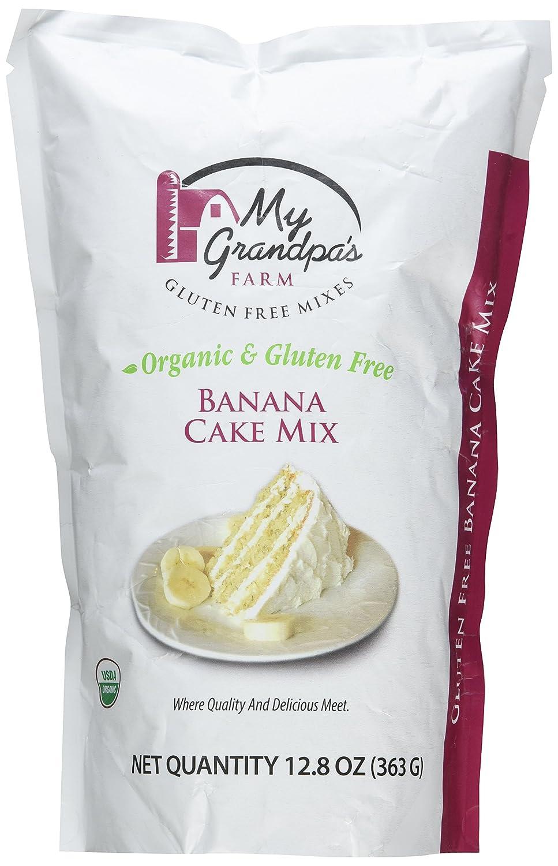 My Grandpa s Farm Sin Gluten Orgánica plátano Cake Mix, Non ...