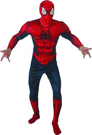 Rubies - Disfraz de Spiderman con músculos, talla XL, IT888869-XL ...