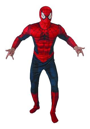 Rubies - Disfraz de Spiderman con músculos, talla XL, IT888869-XL
