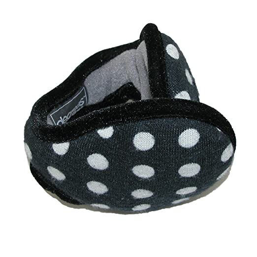 49ed8d39be5df Degrees by 180s Womens Polka Dot Ear Warmers, Black at Amazon ...