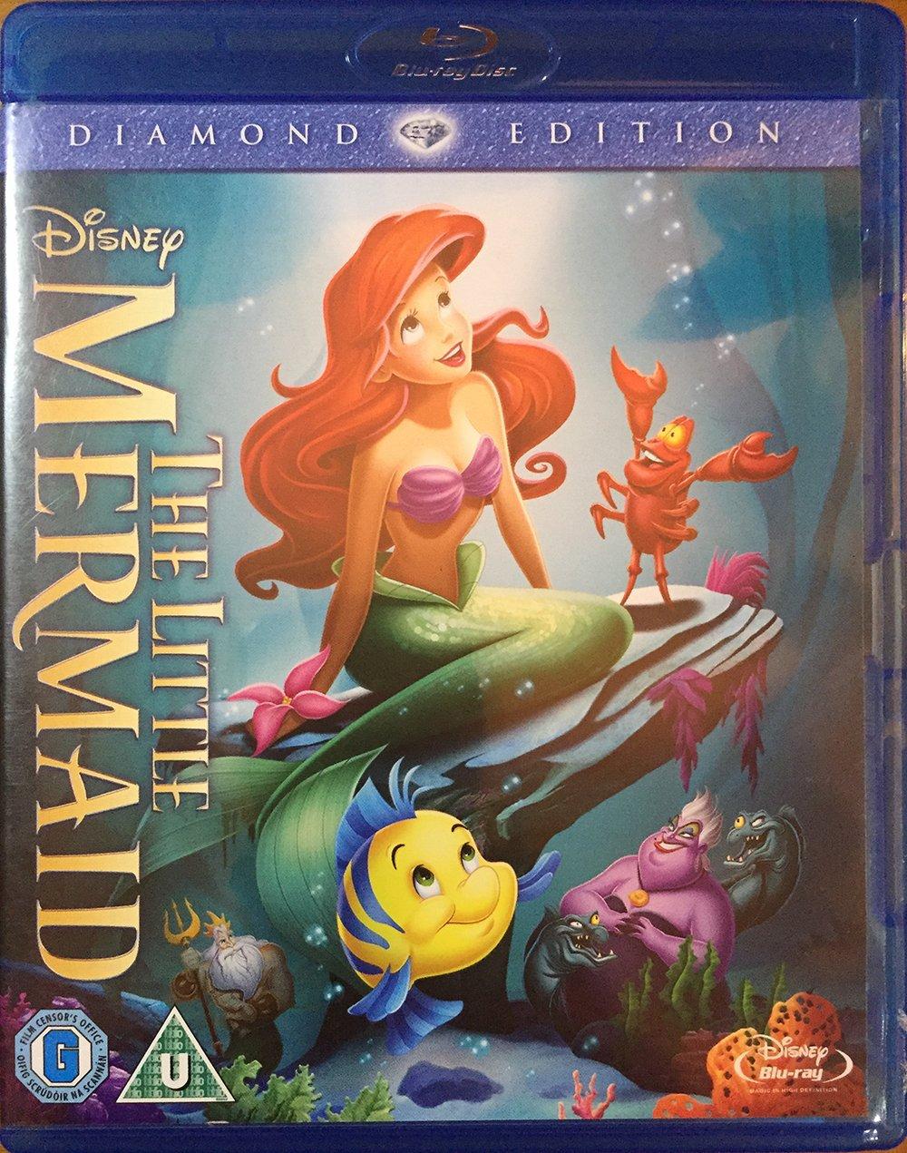 The Little Mermaid: Diamond Edition Blu-ray by Walt Disney ...