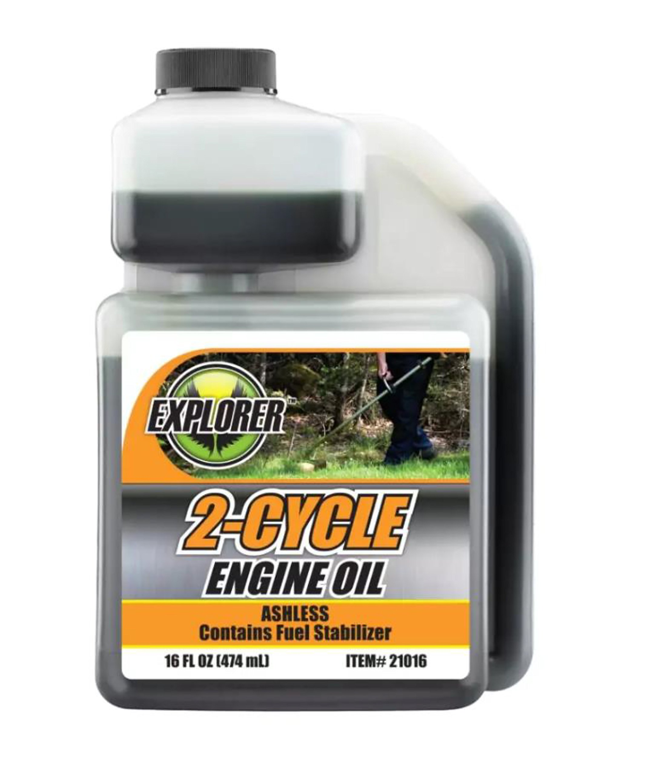 EXPLORER 2 Cycle Low Ash Oil Case of 12/16 oz by EXPLORER